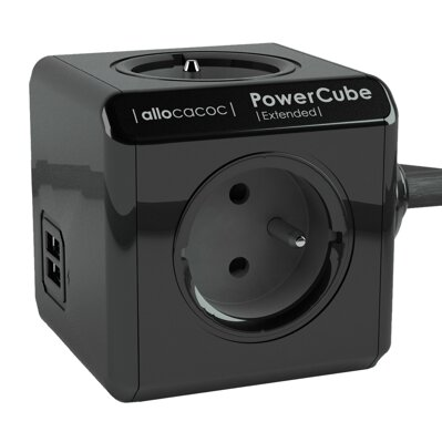 PowerCube Extended USB 3 m Black - Limited Edition