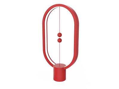 Heng Balance Lamp Plastic - Red