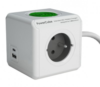 PowerCube Extended USB WirelessCharger A+C
