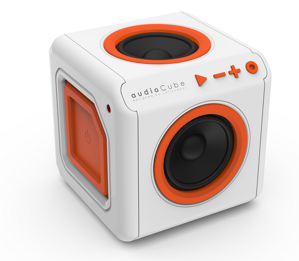 PowerCube audioCube Portable - Bílá
