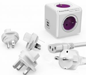 PowerCube ReWirable USB + IEC